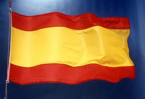 vlag spanje wapperend europa nu