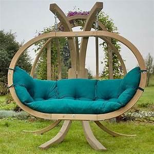 Balancelle De Jardin En Bois : diff rents designs de balancelle de jardin ~ Teatrodelosmanantiales.com Idées de Décoration