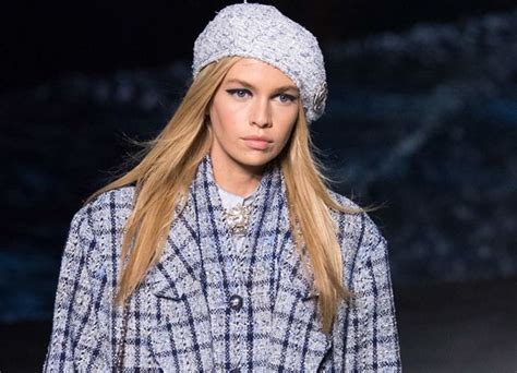 Irish Model Stella Maxwell Leads The Charge At The Chanel