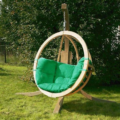 chaise suspendue jardin amazonas globo swing seat drinkstuff