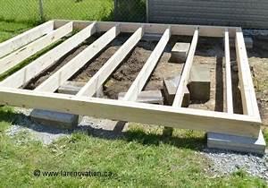 Realiser Un Plancher Bois : construire une terrasse en bois ~ Dailycaller-alerts.com Idées de Décoration