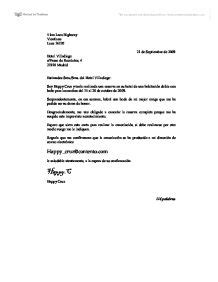 formal letter  spanish ab initio international