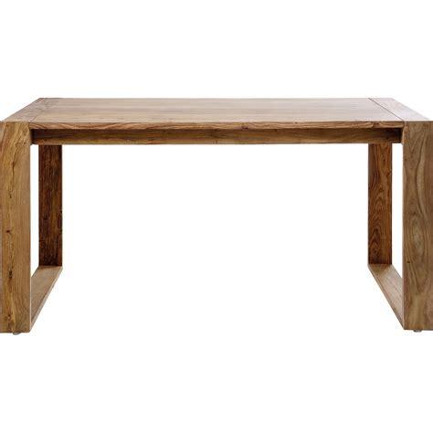 bureau en bois bureau rustique en bois nature kare design