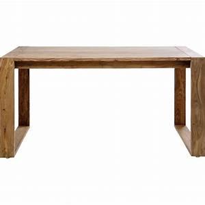 Bureau Pas Chere : bureau rustique en bois nature kare design ~ Melissatoandfro.com Idées de Décoration