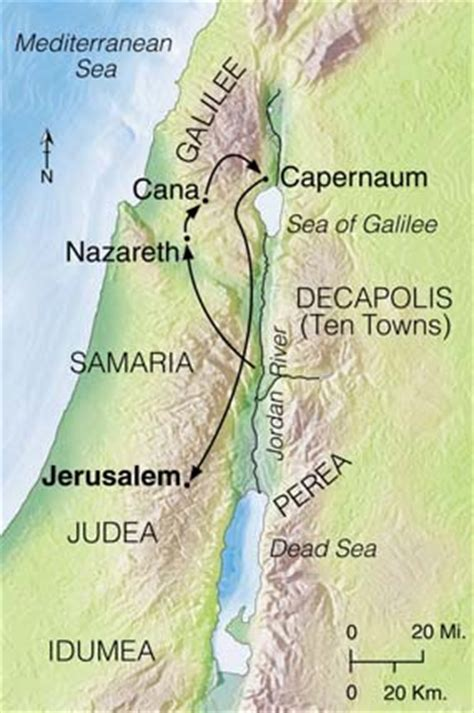 location de canap bibke map of cana in galilee between capernaum and