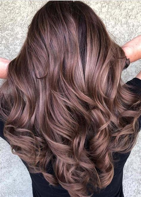 stunning chocolate brown hair color trends