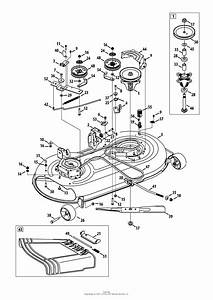 Wiring Diagram  10 Huskee Lt4200 Drive Belt Diagram
