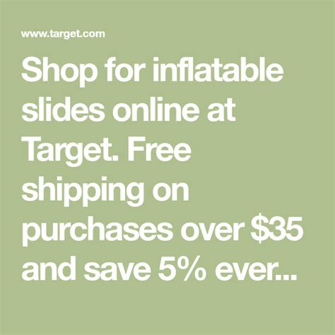 shop  inflatable    target  shipping