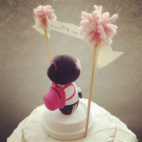 dsmeebee custom kids birthday cake topper  pompom