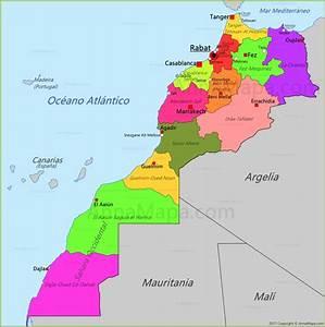 Mapa de Marruecos AnnaMapa