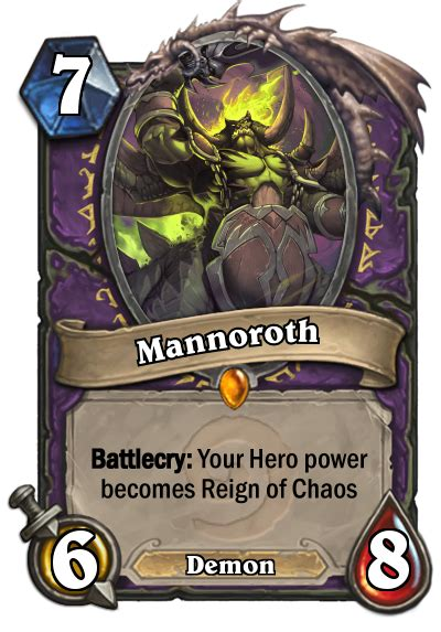 hearthstone warlock deck hearthpwn legendary cards fan creations hearthstone