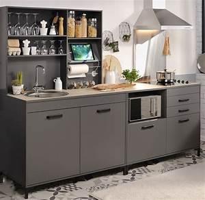 Einbauküche Ohne Geräte : einbauk che 3 tlg ohne e ger te moove 2 von parisot grau ~ Indierocktalk.com Haus und Dekorationen