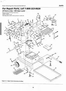 Dayton Band Saw Parts Manual