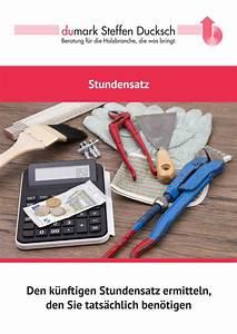 Stundensatz Berechnen Handwerk : steffen ducksch marketing beratung f r die holzbranche ~ Themetempest.com Abrechnung
