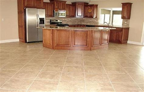 types of tiles for kitchen floor types of kitchen flooring ideas marvelous types of kitchen 9509