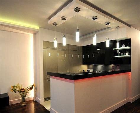 plafond de cuisine design décoration cuisine plafond