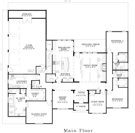 house plans masters and laundry on
