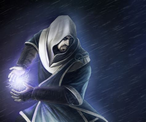 lightning mage by argent sky on