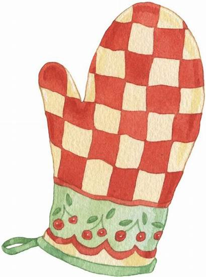 Kitchen Clipart Oven Clip Cooking Mittens Gloves