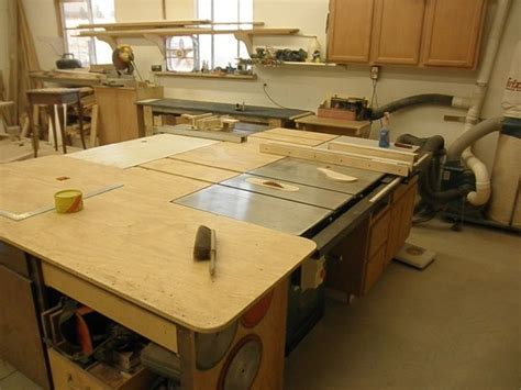 Tablesaw Outfeed Table Plans  Woodworking Projects & Plans