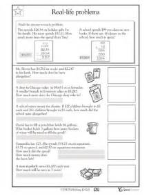 money place value worksheets 5th grade math place value word problems word problems place values and moaning myrtle on