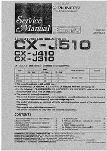 Pioneer Cx-j510