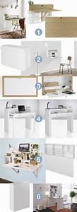 Petit Bureau Pas Cher : bureau pliable pour petit espace 10 meubles design ~ Melissatoandfro.com Idées de Décoration