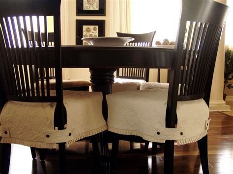 Easy And Elegant Diy Dining Chair Covers The Wooden Houses