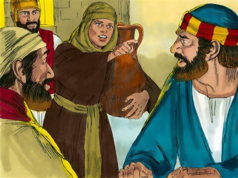 freebibleimages gethsemane  peter denies jesus
