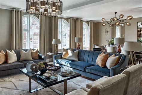 Living Room Apartment Interior Design by Knightsbridge Apartment Luxury Interior Design