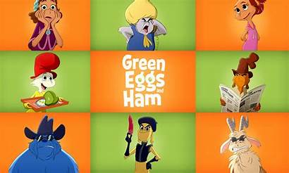 Eggs Ham Netflix Animation Cast Magazine