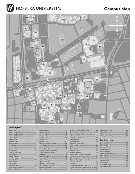 campus map hofstra university acalog acms