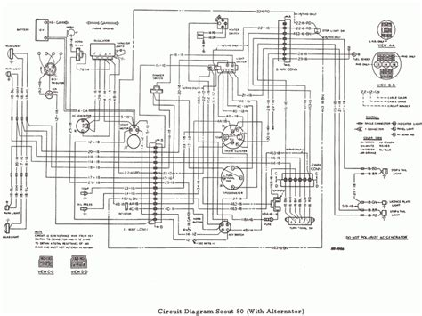 international scout 80 wiring diagram wiring forums