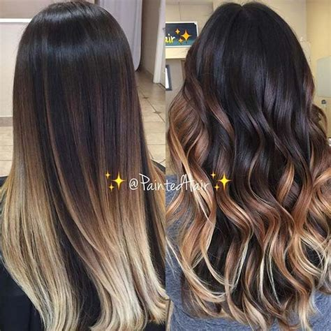 stylish ombre color ideas  brunettes stayglam