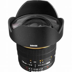 Bower 14mm F  2 8 Ultra Wide Angle Manual Focus Lens