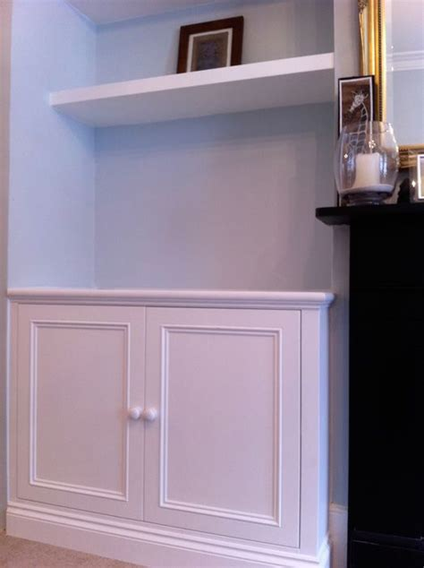 Cupboard Shelving by Alcove Cupboard And Shelving Living Room Inspiration