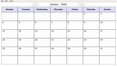 Kalendar Calendar Echo Qt Screencast Github Manage