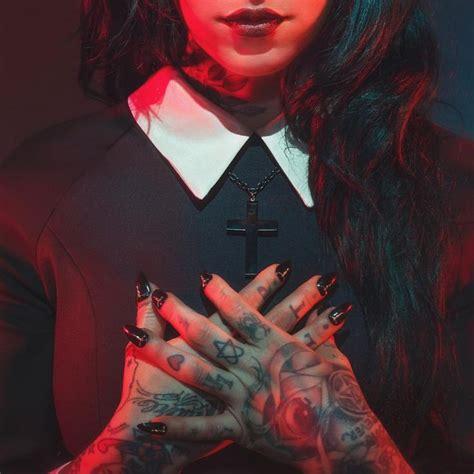 satans  images  pinterest metal girl