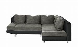 Mein Sofa Höffner : smart eckcouch mit schlaffunktion mila schwarz grau ~ Frokenaadalensverden.com Haus und Dekorationen
