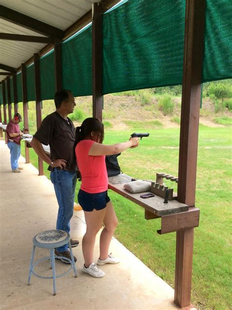 To hit, wound, or kill with a missile fired. Shooting Range | Town of Woodworth 2018