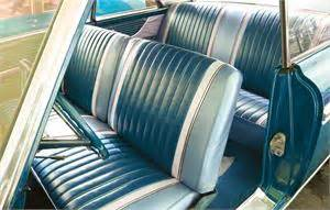 seat upholstery imported  galaxie  seat cover