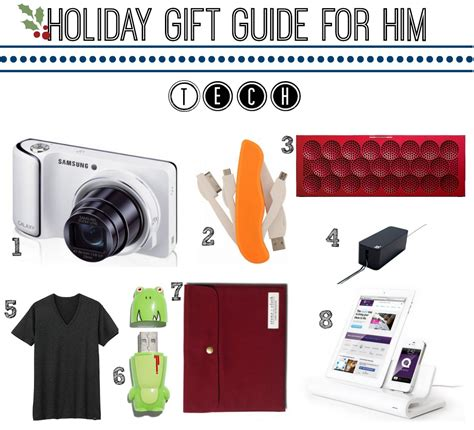 tech holiday gift guide for guy style girlfriend