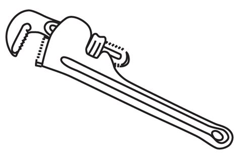 Pics For > Plumbing Wrench Clipart