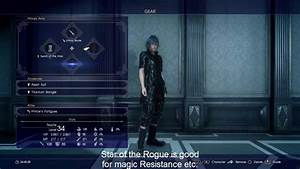 Final Fantasy 15 Best Gear To Equip And Royal Arms Stat