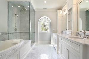 25 White Bathroom Ideas (Design Pictures) - Designing Idea