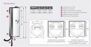 Dimension Chauffe Eau Thermodynamique : chauffe eau thermodynamique aquacosy atlantic econology ~ Edinachiropracticcenter.com Idées de Décoration