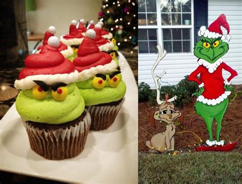 grinch decorations  images   grinch  stole