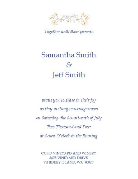 wedding invitations templates free free wedding invitation templates microsoft word templates
