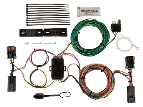 Jeep Light Wiring Harnes by Blue Ox Ez Light Wiring Harness 2002 2007 Jeep Liberty