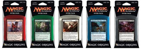 magic the gathering premade decks origins intro pack set of 5 magic the gathering